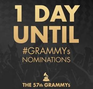 one day until #Grammys Nominations